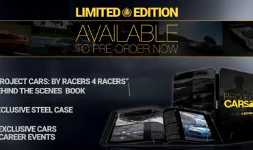 This is what you'll get in the Project Cars Limited Edition
