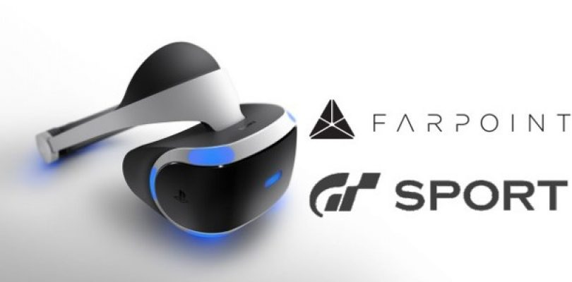 Video: A fresh look at Farpoint and GT Sport being played using PS VR