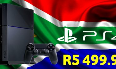 South Africa receives an official PS4 price drop – R5 499.99