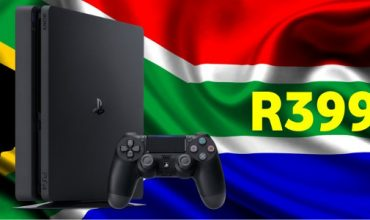 In the market for a PS4? It's selling for R3999 in December