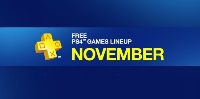 The November PS Plus Games are lookin' good!