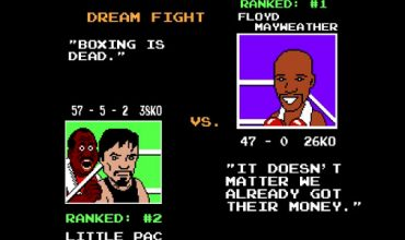 Punchout used to correctly predict Mayweather and Pacquiao fight