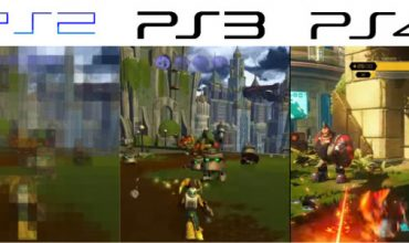 Video: Ratchet & Clank graphics comparison between PS4, PS3 and PS2