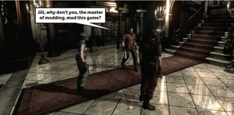 Download the original Resi voice acting mod for Resi HD now… it's terrible