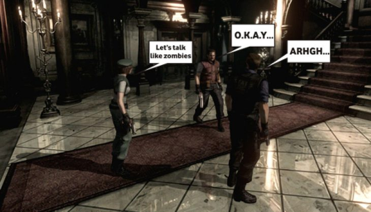 Modder to 'fix' Resident Evil voice acting to suck again