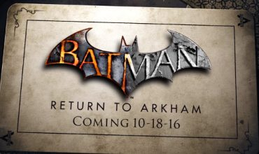 Batman will Return to Arkham on 18 October