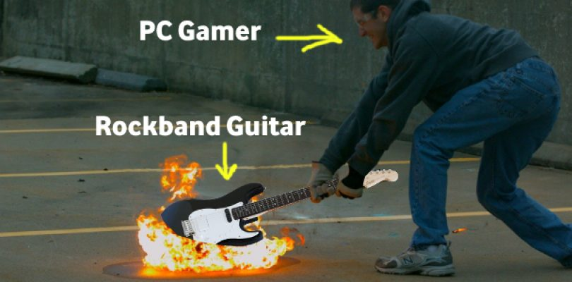 """Nope, Rockband 4 won't appear on PC because """"security issues"""""""