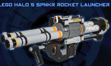 Video: Drool over this Halo 5: Guardians SPNKR Rocket Launcher… made up of LEGO