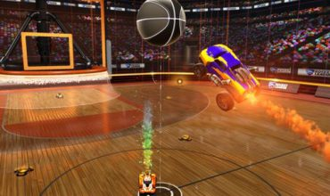 Slam 'Dunk House' the Rocket League DLC next month, for free