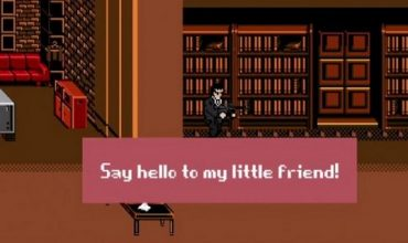 Scarface takes over the 8-bit world