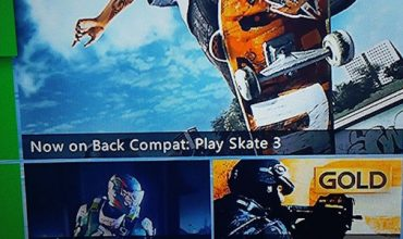 Skate 3 is now backwards compatible on Xbox One