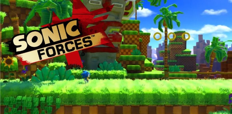 Video: First Sonic Forces gameplay footage reveals a traditional side-scroller