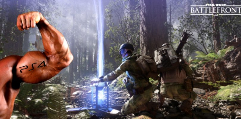 Star Wars Battlefront footage includes PS4 build