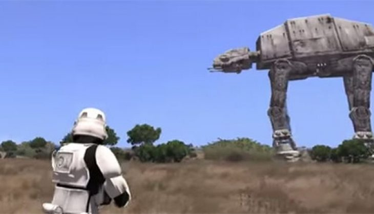 The force is strong with Arma 3
