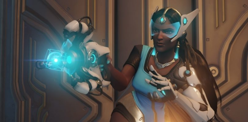 This Lego replica of Symmetra's weapon will have you raiding your Lego bucket