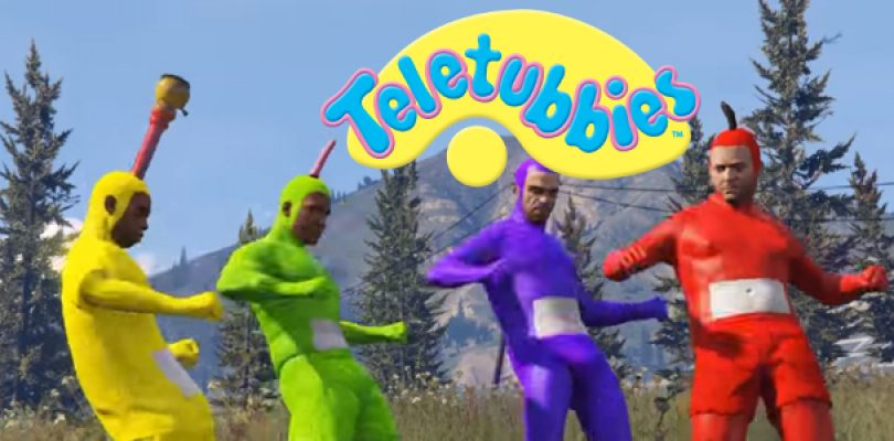 Video: The Teletubbies!… recreated in GTA V