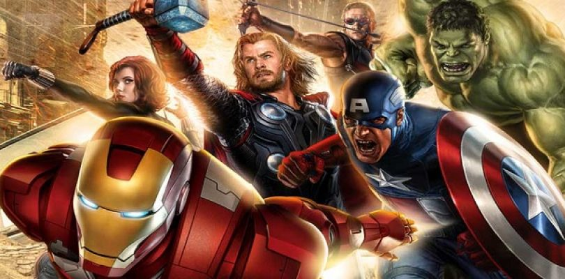 Footage of canned Avengers themed FPS surfaces