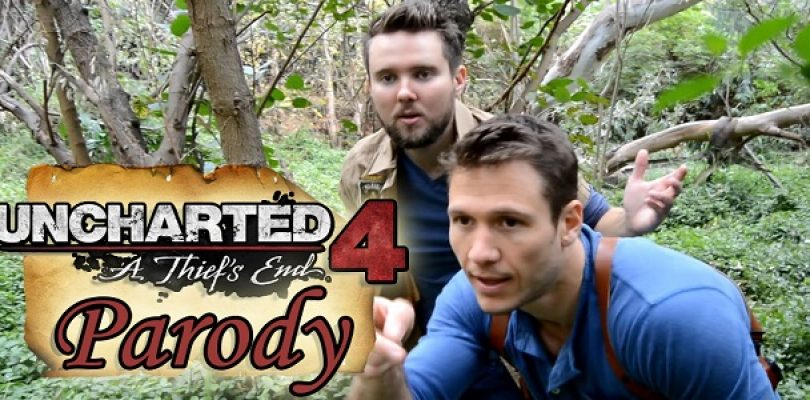 Video: Uncharted 4: A Thief's End parody