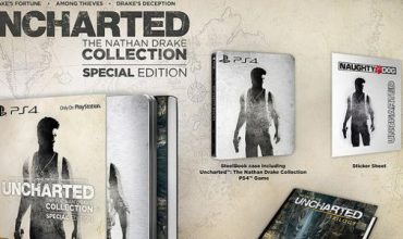 Uncharted: The Nathan Drake Collection in stores 7 October