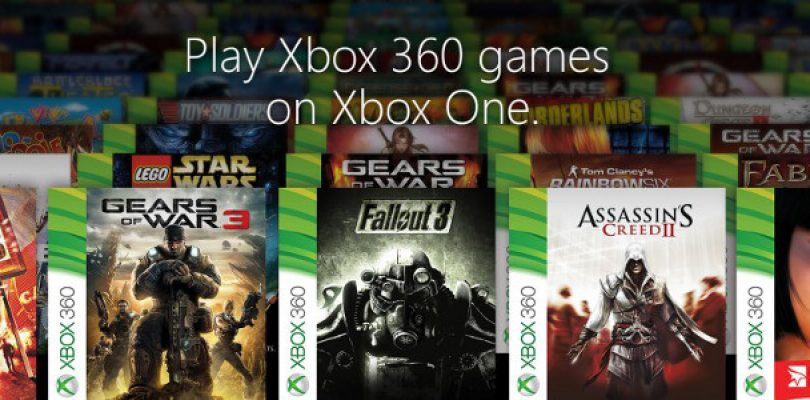 Your first 104 official Xbox One backwards compatible 360 games