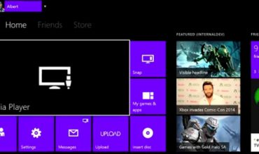 This video details network media playback capabilities for the Xbox One