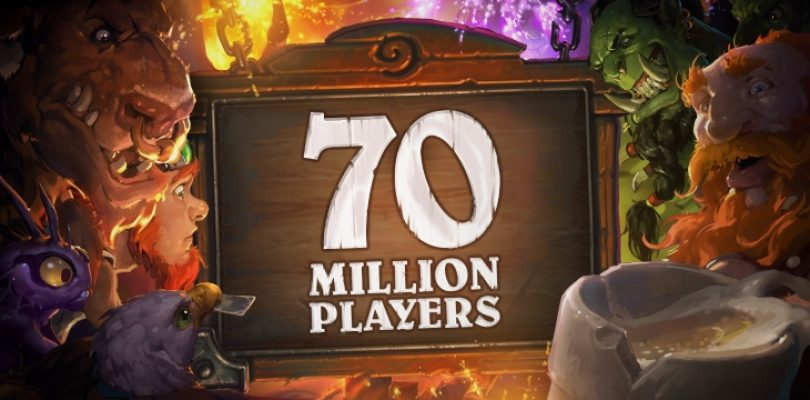 Hearthstone celebrates 70 million players with free card packs