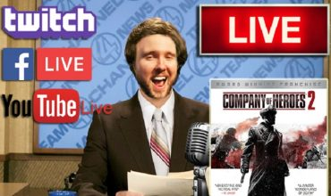 Livestream: We start the week off with some Company of Heroes II
