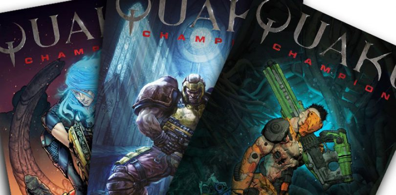 Who are the Quake Champions? Let me paint you a pretty picture…