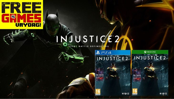 Free Games Vrydag winner feels no Injustice