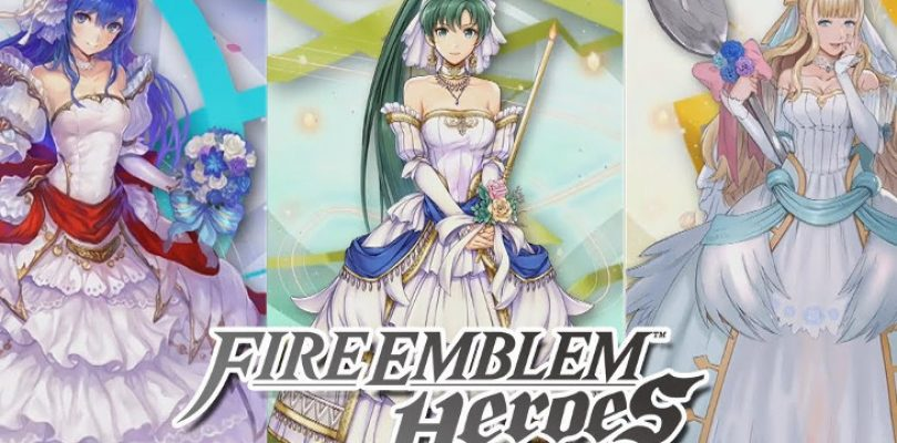 Here come the brides in Fire Emblem Heroes