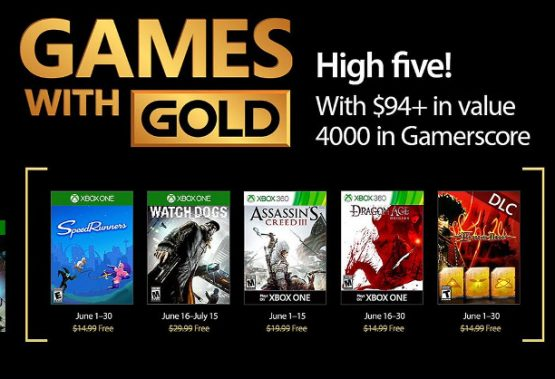 Your games with Gold for June comes with a top indie title and some AAA games