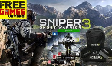 Free Games Vrydag – Sniper Ghost Warrior 3 (PC/PS4/Xbox One)