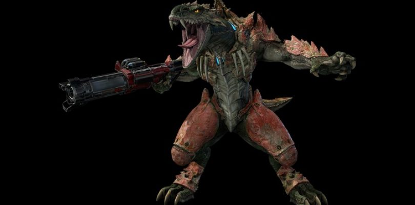 Sorlag is the meanest bunny hopping hunter in Quake Champions