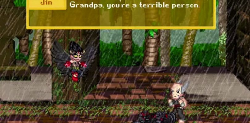 Video: Tekken story recap with 8-bit sprites is amazing