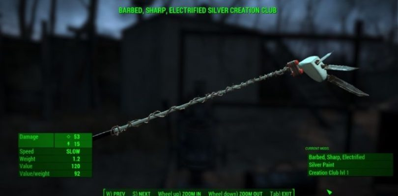 Why wait? This Fallout 4 'Creation Club' creates random items with every swing