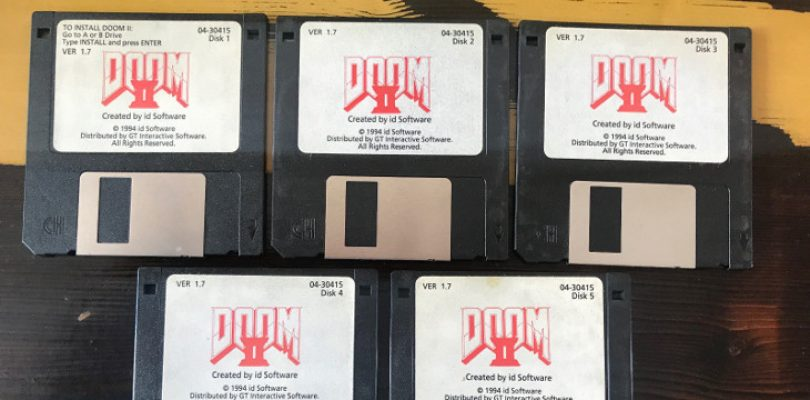 Update: John Romero is selling his original copy of DOOM 2 on eBay