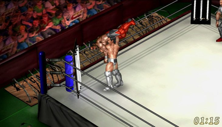 Fire Pro Wrestling World grapples Early Access in July