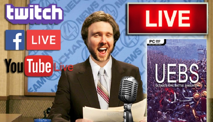 Livestream: Let's kick off Monday with Ultimate Epic Battle