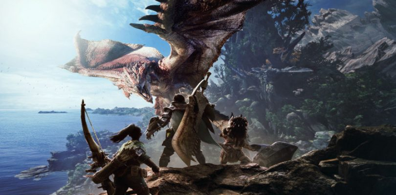 Monster Hunter World coming to PS4, Xbox One & PC 2018