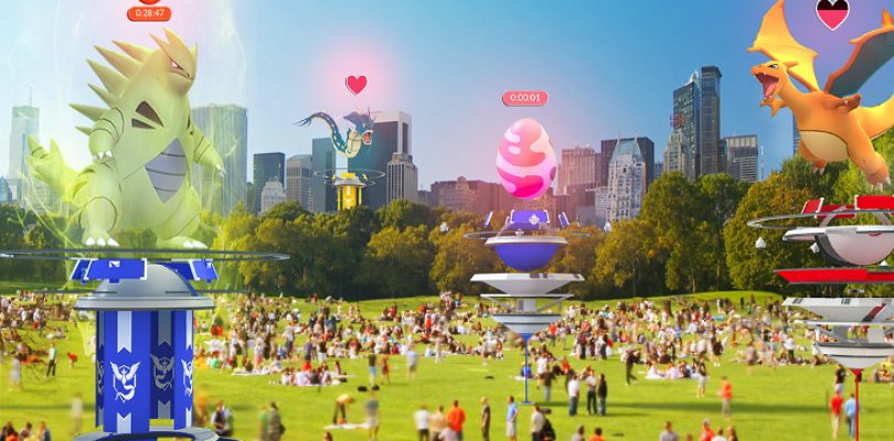 Pokémon GO's next update is a BIG one – Revamped Gyms, TM's & Raids!
