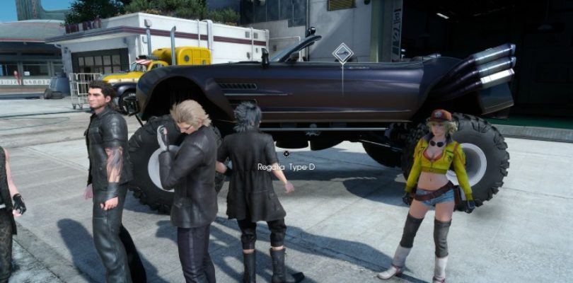 Final Fantasy XV's latest update lets you ditch the roads with Regalia Type-D