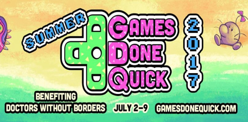 SGDQ 2017 starts running this Sunday