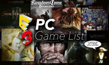 Every confirmed PC game that will be at E3 this year