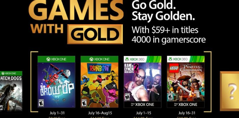 Your Games with Gold for July are cute, colourful and angry
