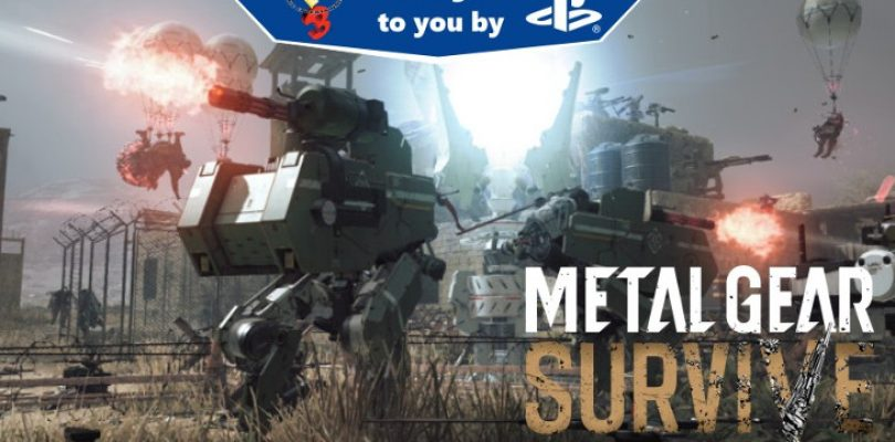 E3 hands-on: Metal Gear Survive – multiplayer (PS4 Pro)