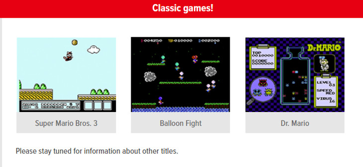 nintendo switch online to include classic games and voice chat paid