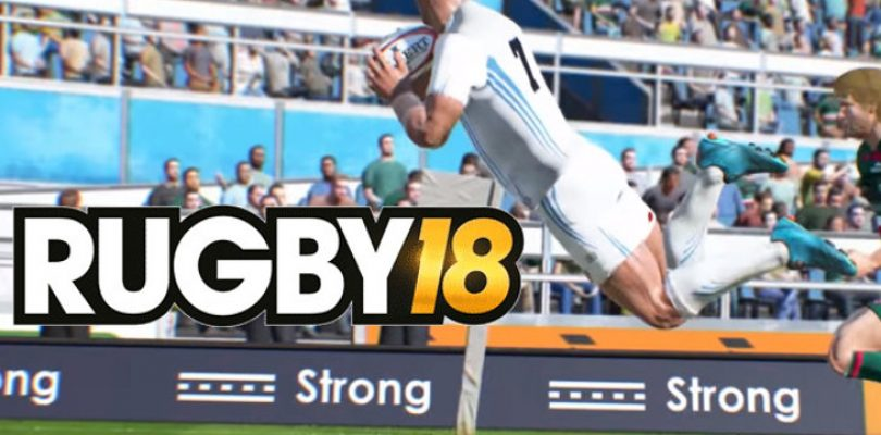 Rugby 18 receives an official trailer and it looks… well, like an okay 'PS2' game