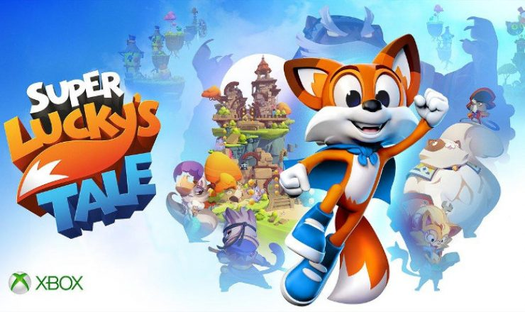E3 Hands On Super Lucky S Tale Xbox One X Sa Gamer