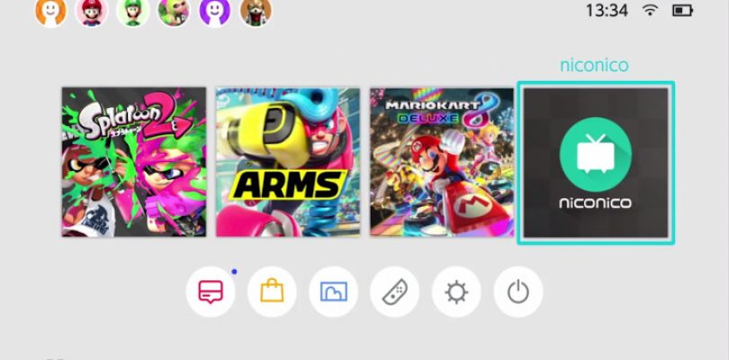 The Switch gets a streaming service with NicoNico