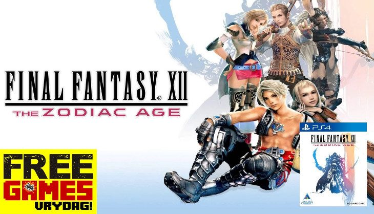 Free Games Vrydag – Final Fantasy XII: The Zodiac Age (PS4)